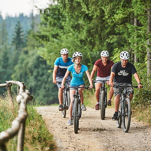 Wycieczki na rowerach z przewodnikiem